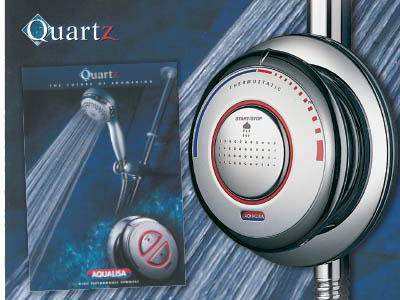 2001 Aqualisa Quartz Promotional Poster