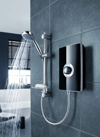 electric showers vs power showers showers to you. Black Bedroom Furniture Sets. Home Design Ideas