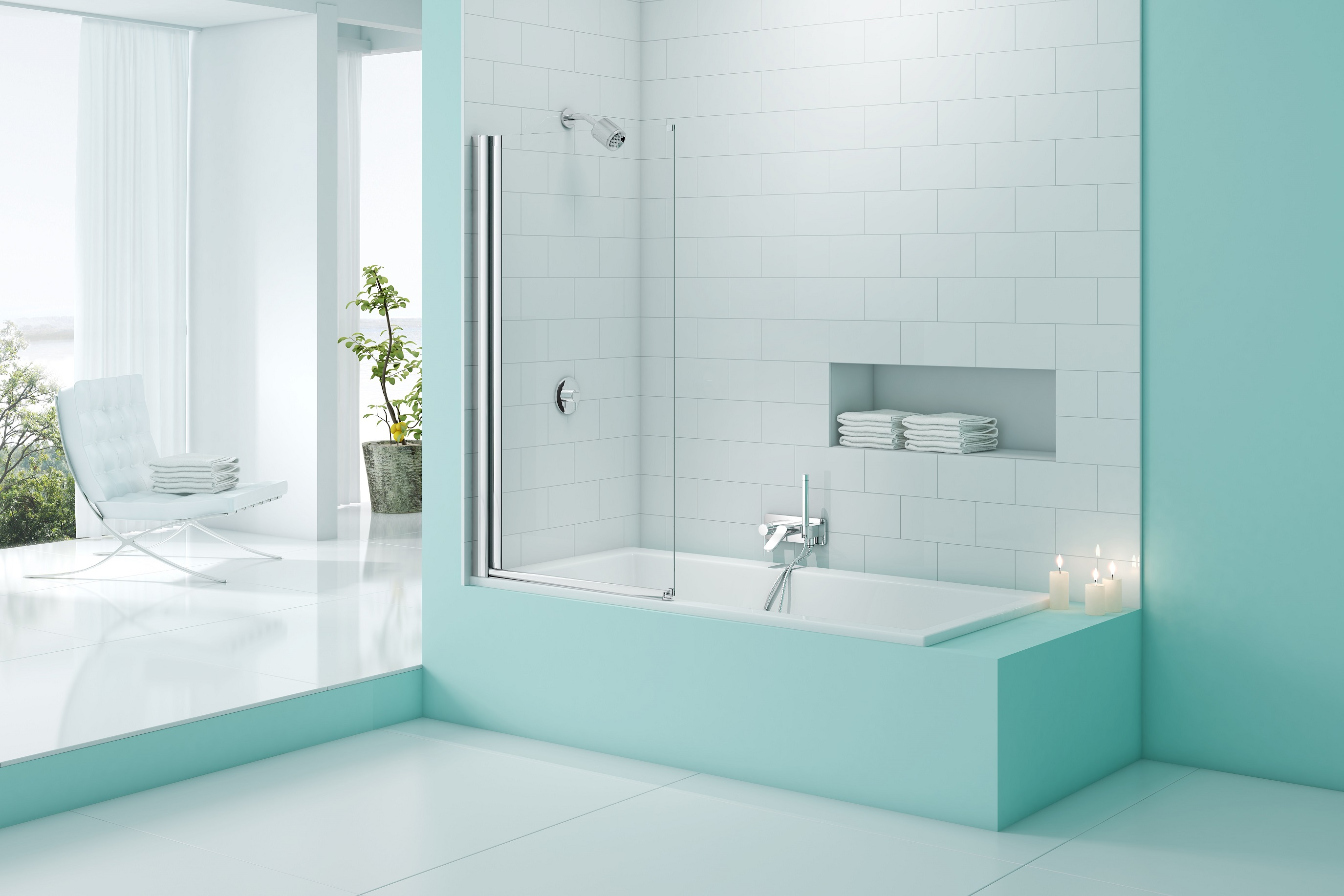Merlyn SecureSeal Bath Screens - Showers To You