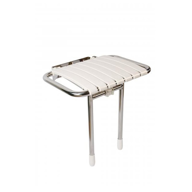 Croydex Bathroom Easy Fit White Bath Bench Seat support aluminium 700mm AP210122