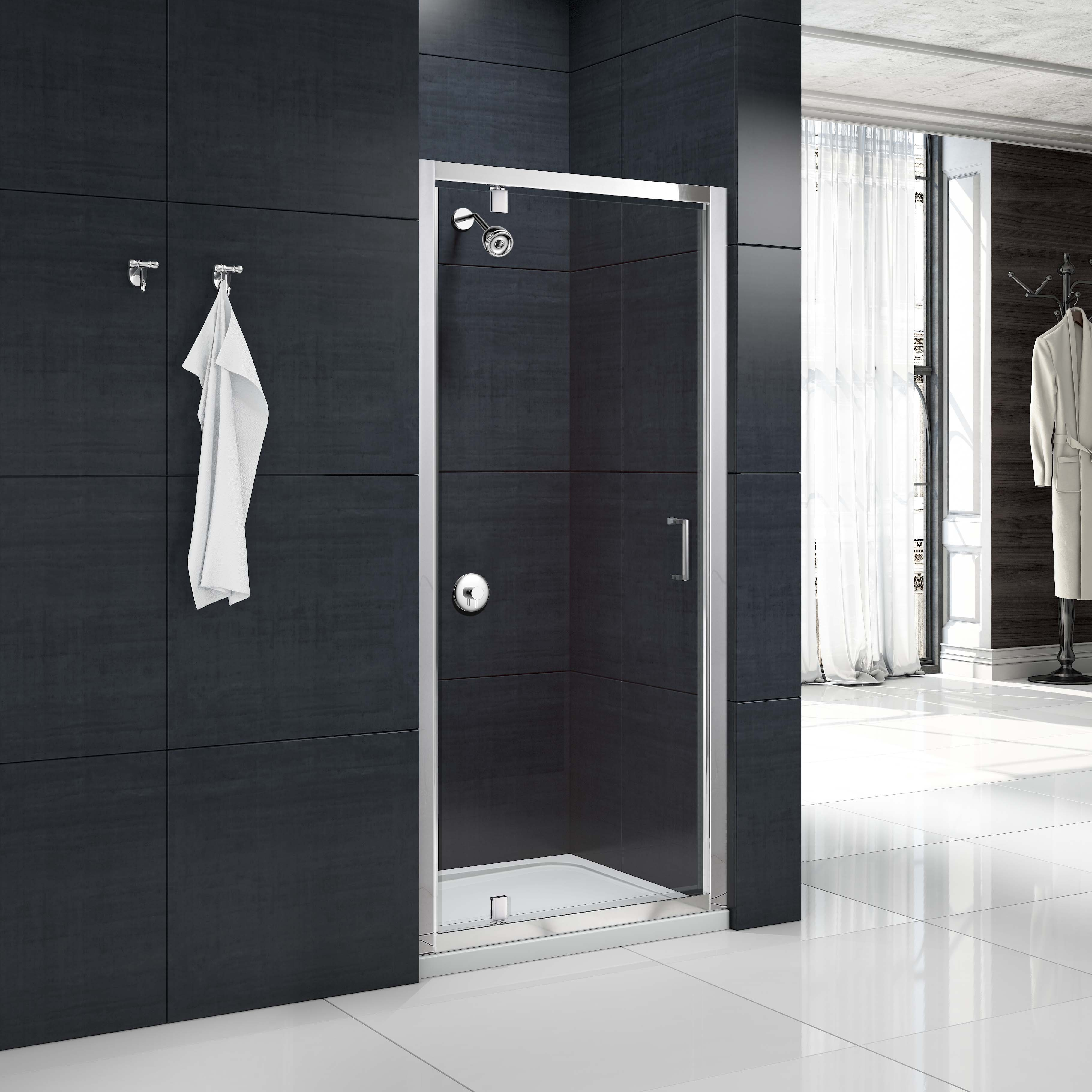 Merlyn Mbox 760mm Pivot Shower Door Mbp760