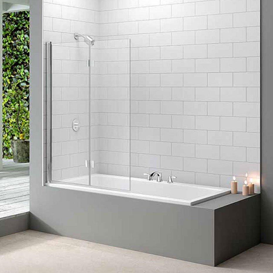 Merlyn Secureseal 4 Fold Bath Screen Ms4