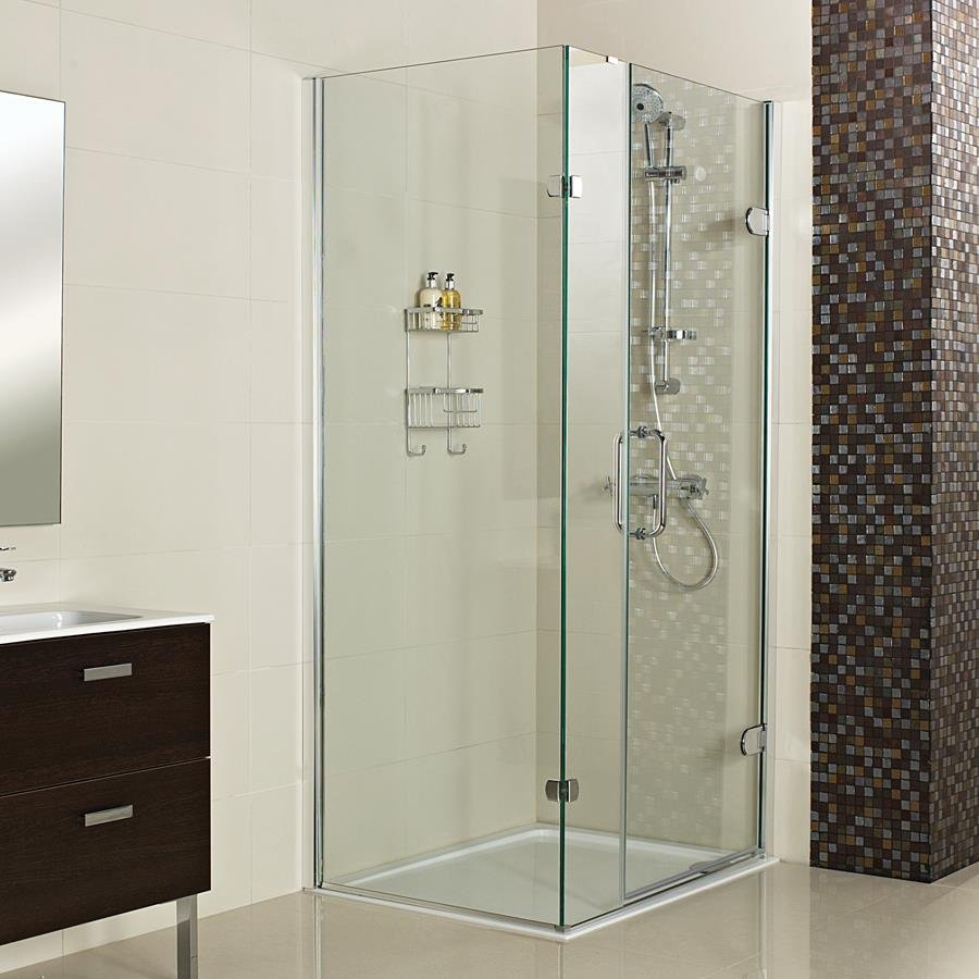 Roman Decem Neo Angle Shower Enclosure 900 X 900 Left