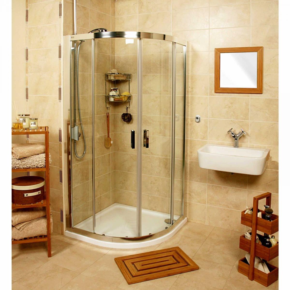 Roman Embrace Trapezium Shower Enclosure