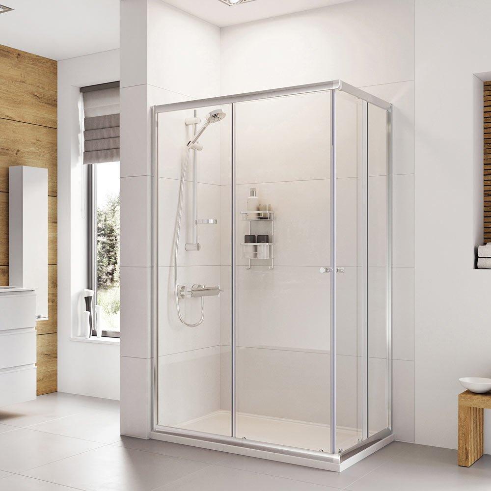 Roman Haven 700 X 900mm Offset Corner Shower Enclosure