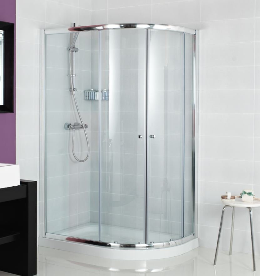 Haven 1000mm Bi Fold Shower Door H3b10cs