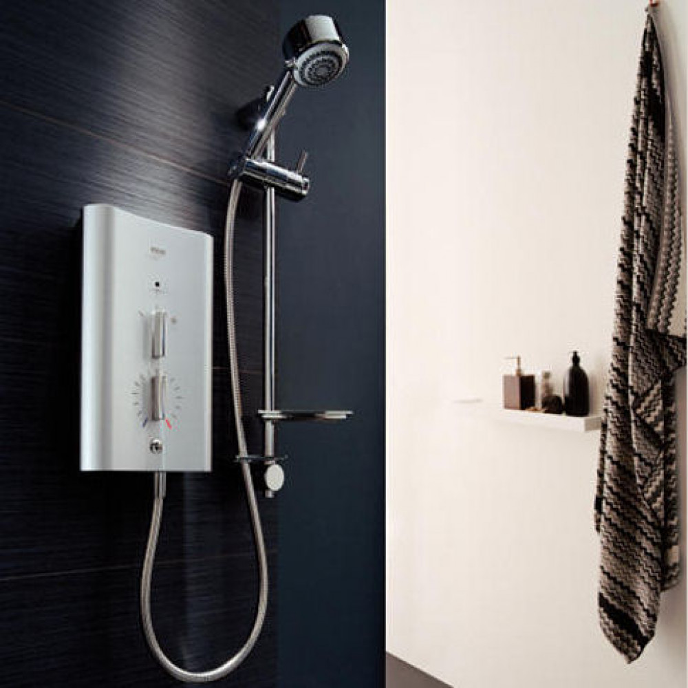 Mira Escape 9.8kW Thermostatic Electric Shower 9.8kw Chrome