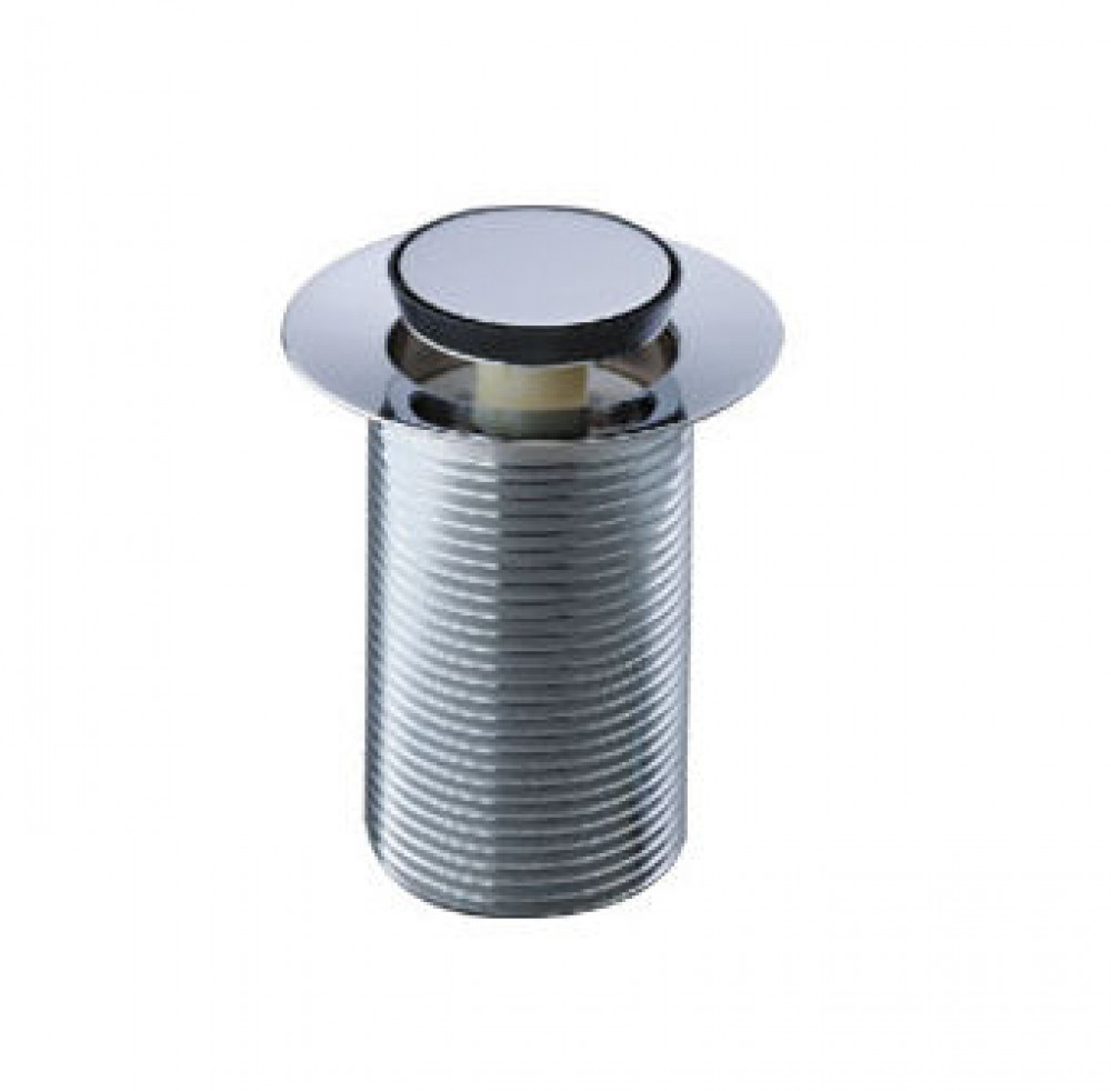 Roper Rhodes Chrome plated spring basin waste unslotted 75mm thread