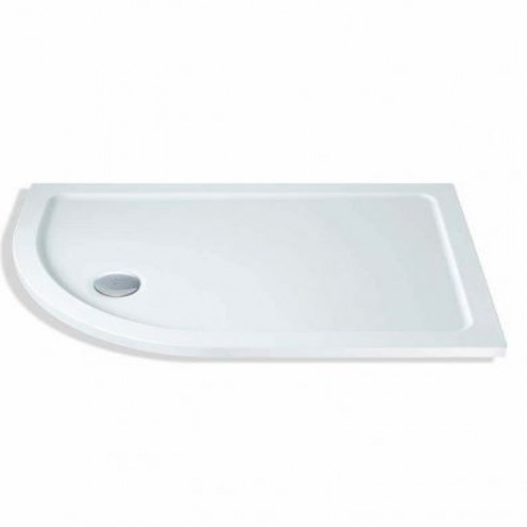MX Elements 1000 x 760 offset quadrant Left Hand shower tray