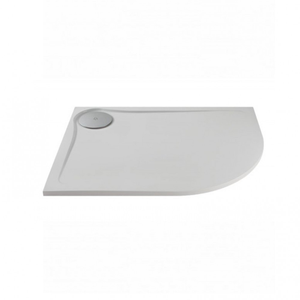 1200 x 800mm MX Optimum Offset Quadrant shower tray