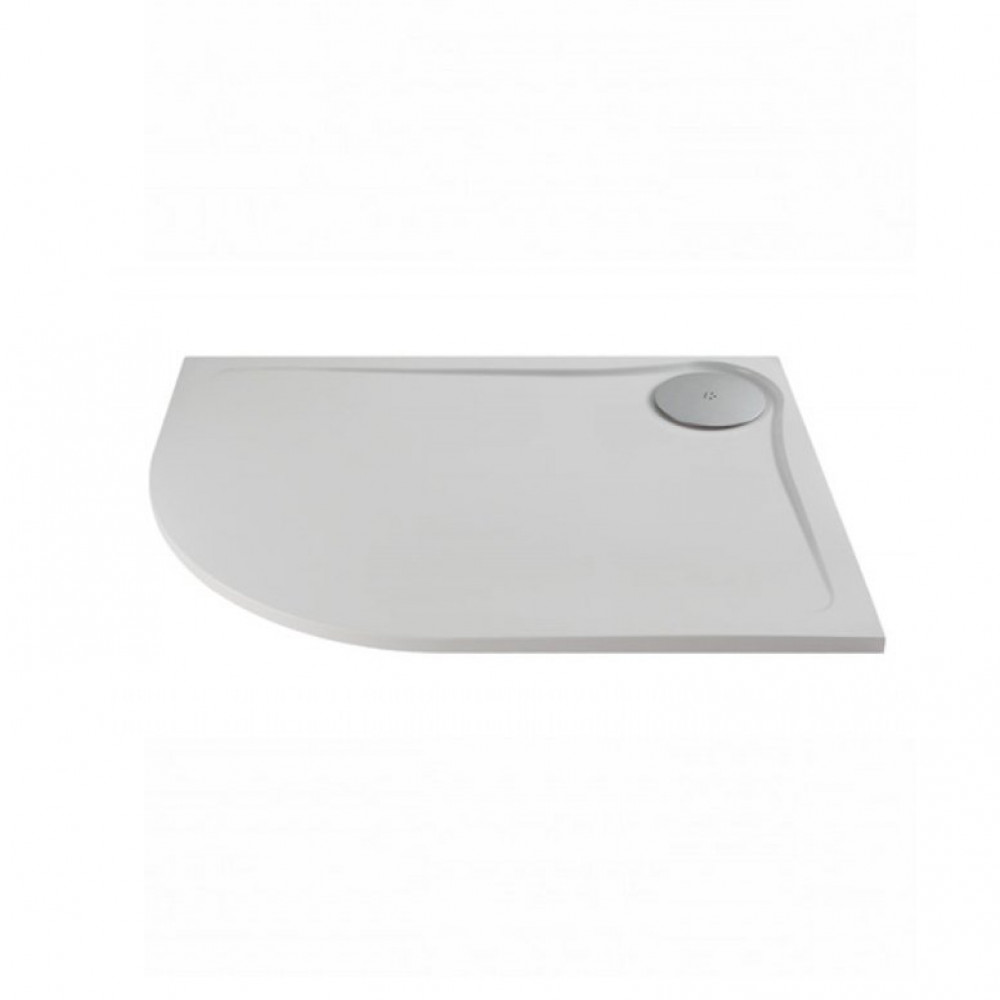 1200 x 900mm MX Optimum Offset Quadrant shower tray