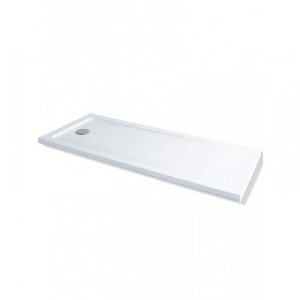 MX 1700 x 700 Rectangular Shower Tray Durastone Low Profile | XFU