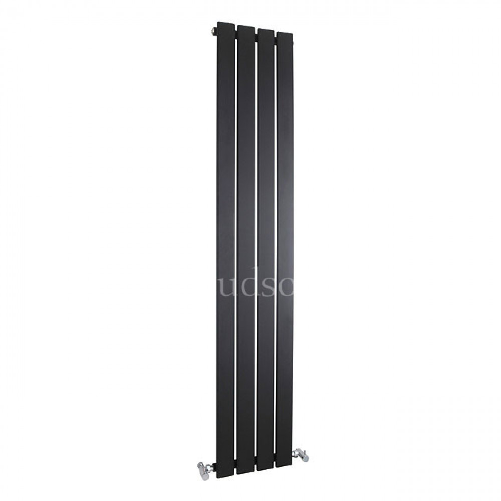 Hudson Reed Zenith Matt Black Radiator