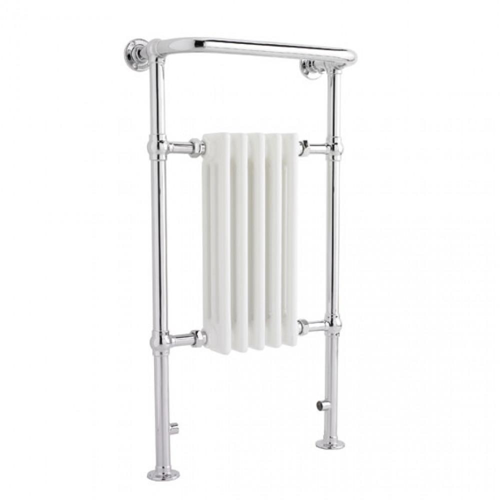 Hudson Reed Floor Mounted Small Harrow Heated Towel Rail