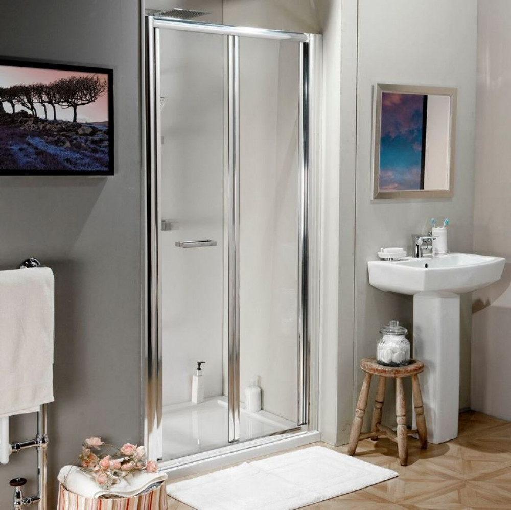 Ajax 800mm Bifold Shower Door
