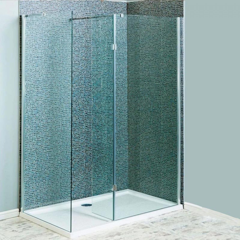 Ajax 700mm Wetroom Shower Panel1