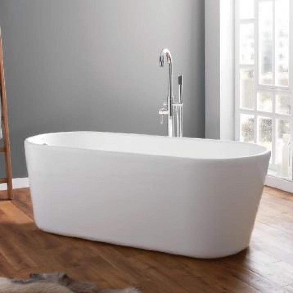 April Brearton Contemporary Freestanding Bath In Room Setting