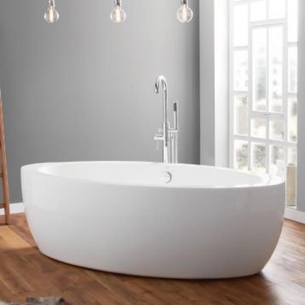 April Halton Contemporary Freestanding Bath In Room Setting