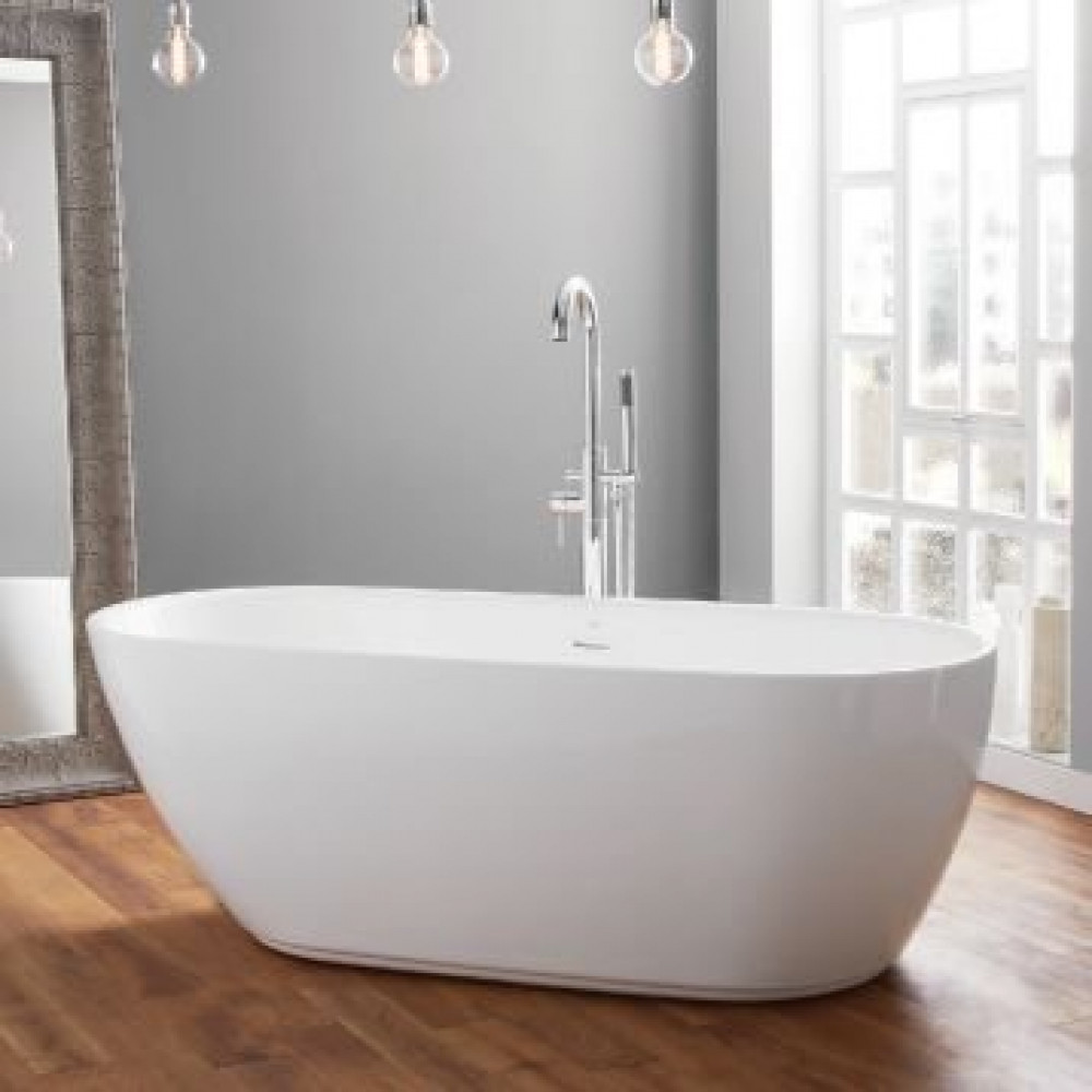 April Harrogate Contemporary Freestanding Bath In Room Setting