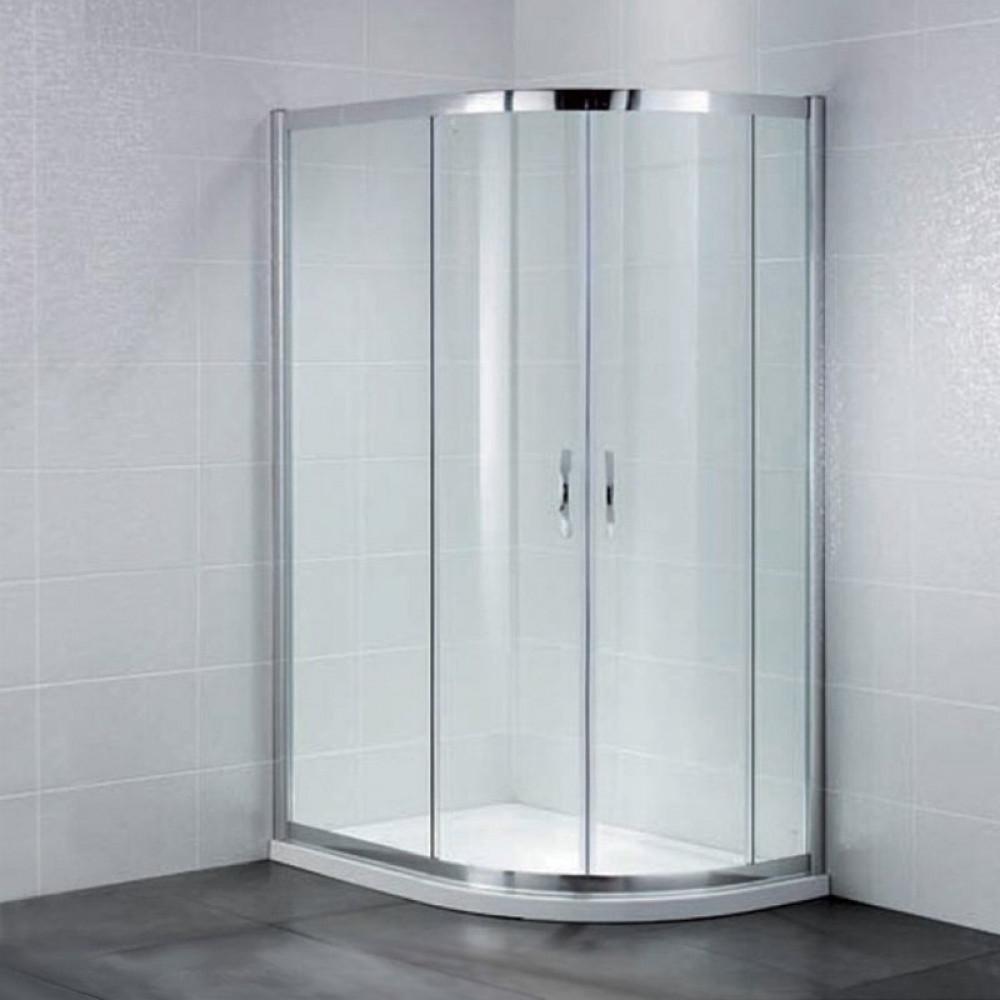 April Identiti2 Offset Double Door Quadrant Shower Enclosure 1200mm x 900mm
