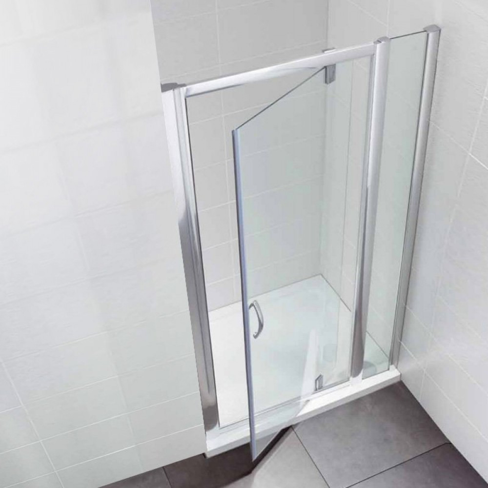 April Identiti2 Pivot Door & In Line Panel 1000mm Enclosure