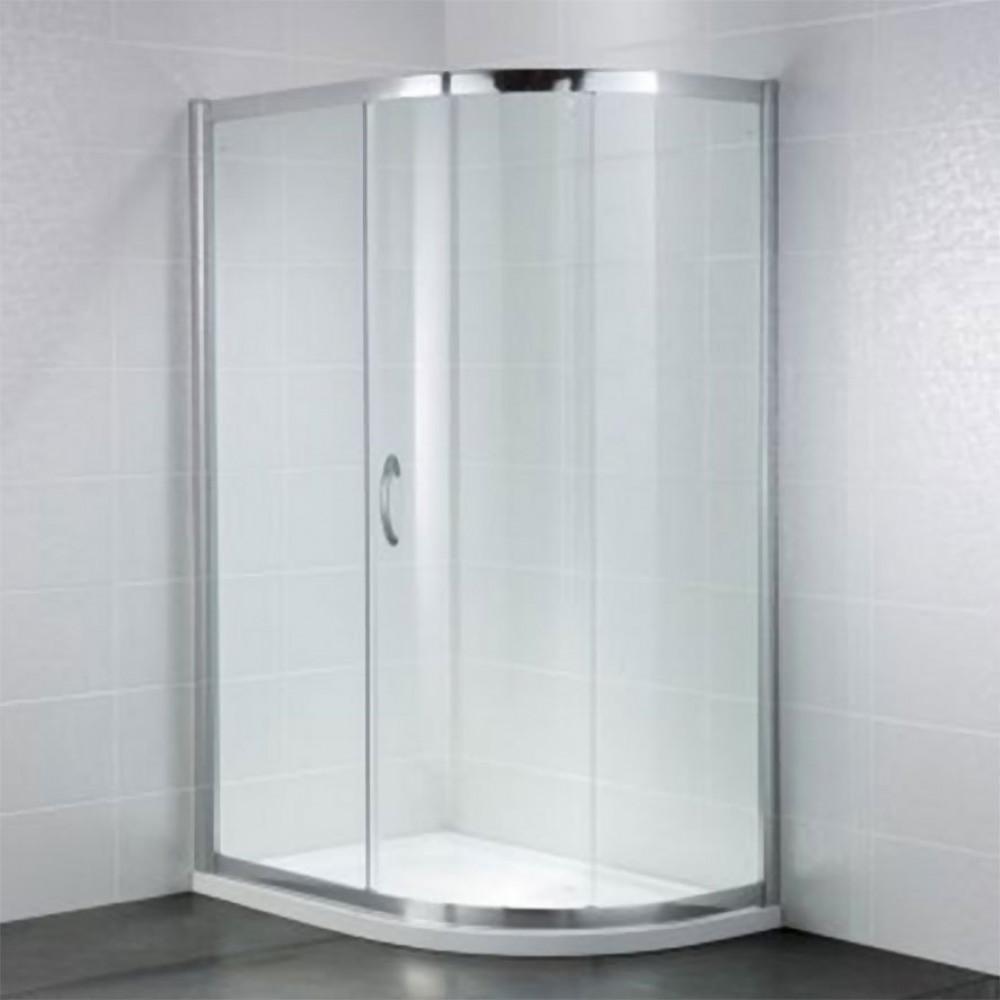 April Identiti2 Single Door Quadrant 900mm x 760mm