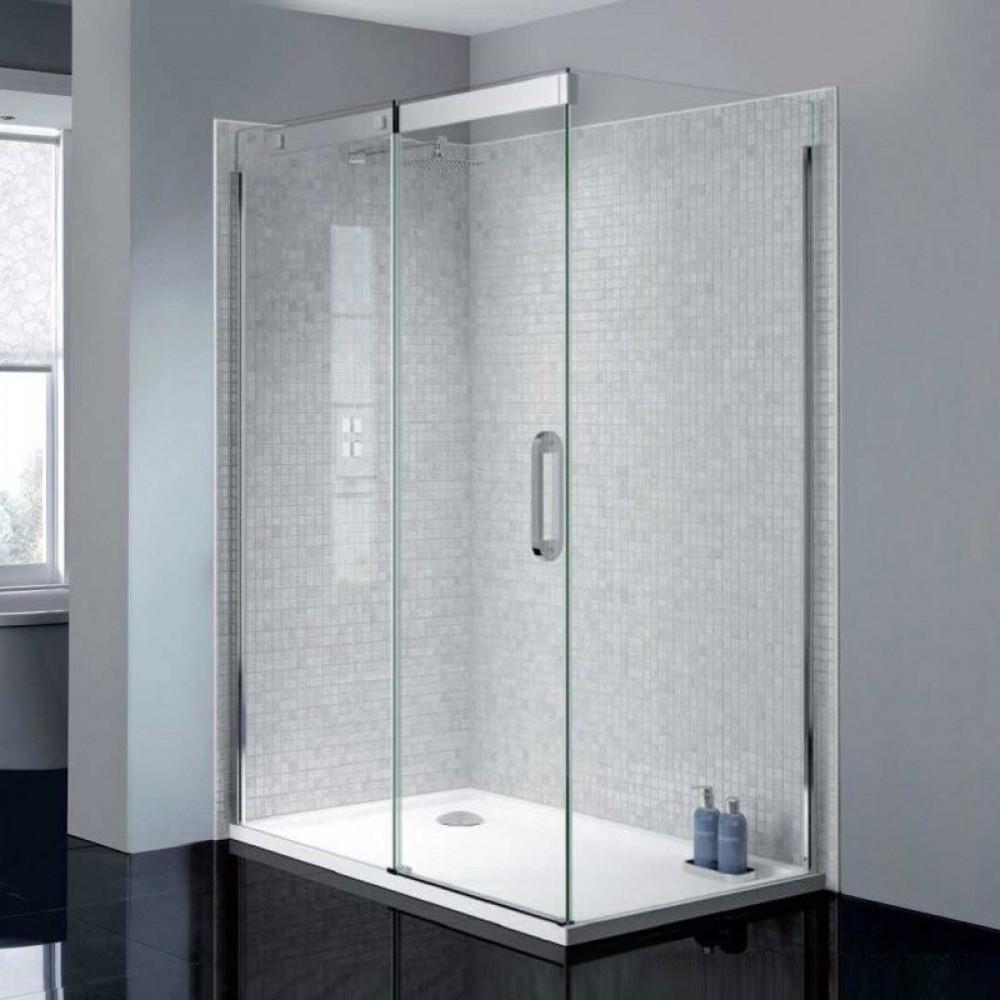 April Prestige2 Frameless 1200mm Sliding Shower Door