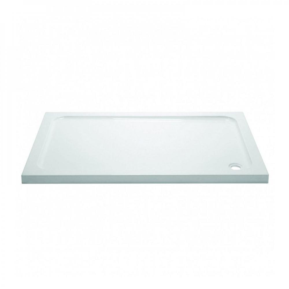 Aquadart 1000 x 800mm Rectangle Shower Tray