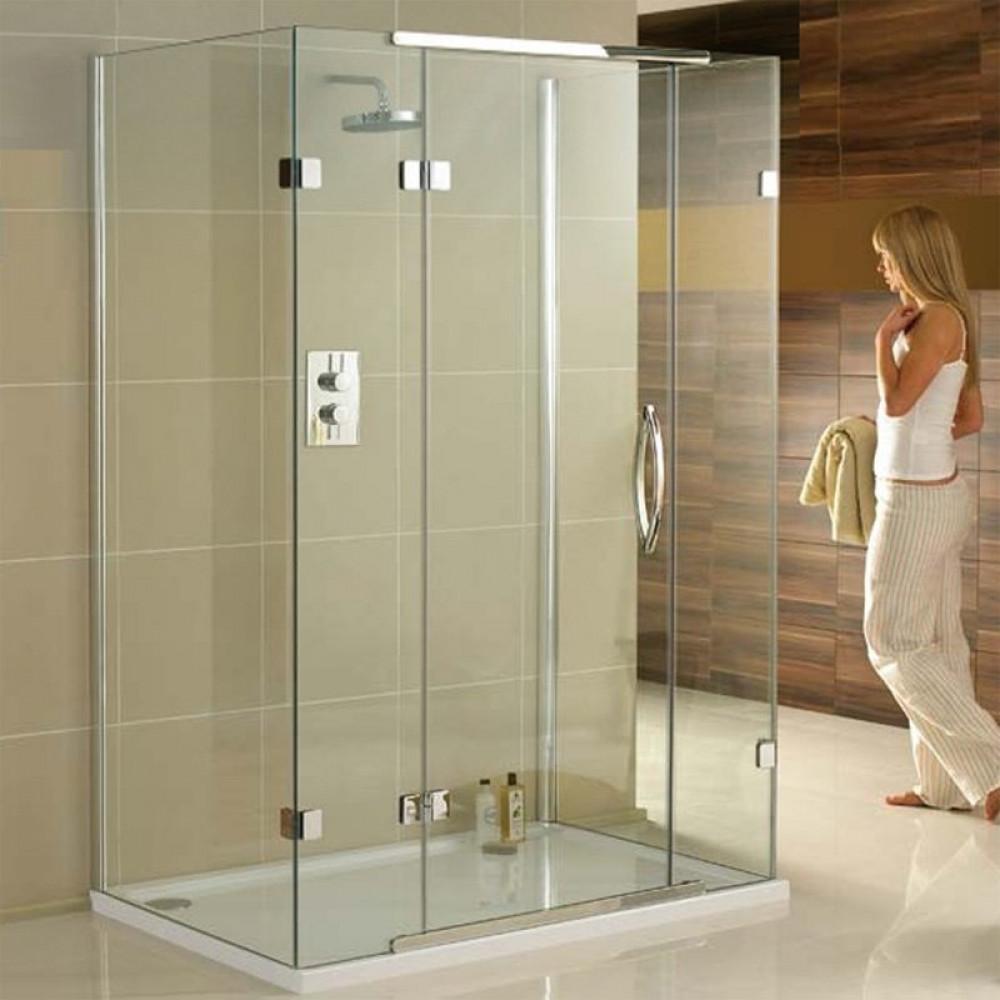 Aquadart 1200 x 900mm 3 Sided Shower Enclosure-1Aquadart 1200 x 900mm 3 Sided Shower Enclosure-1