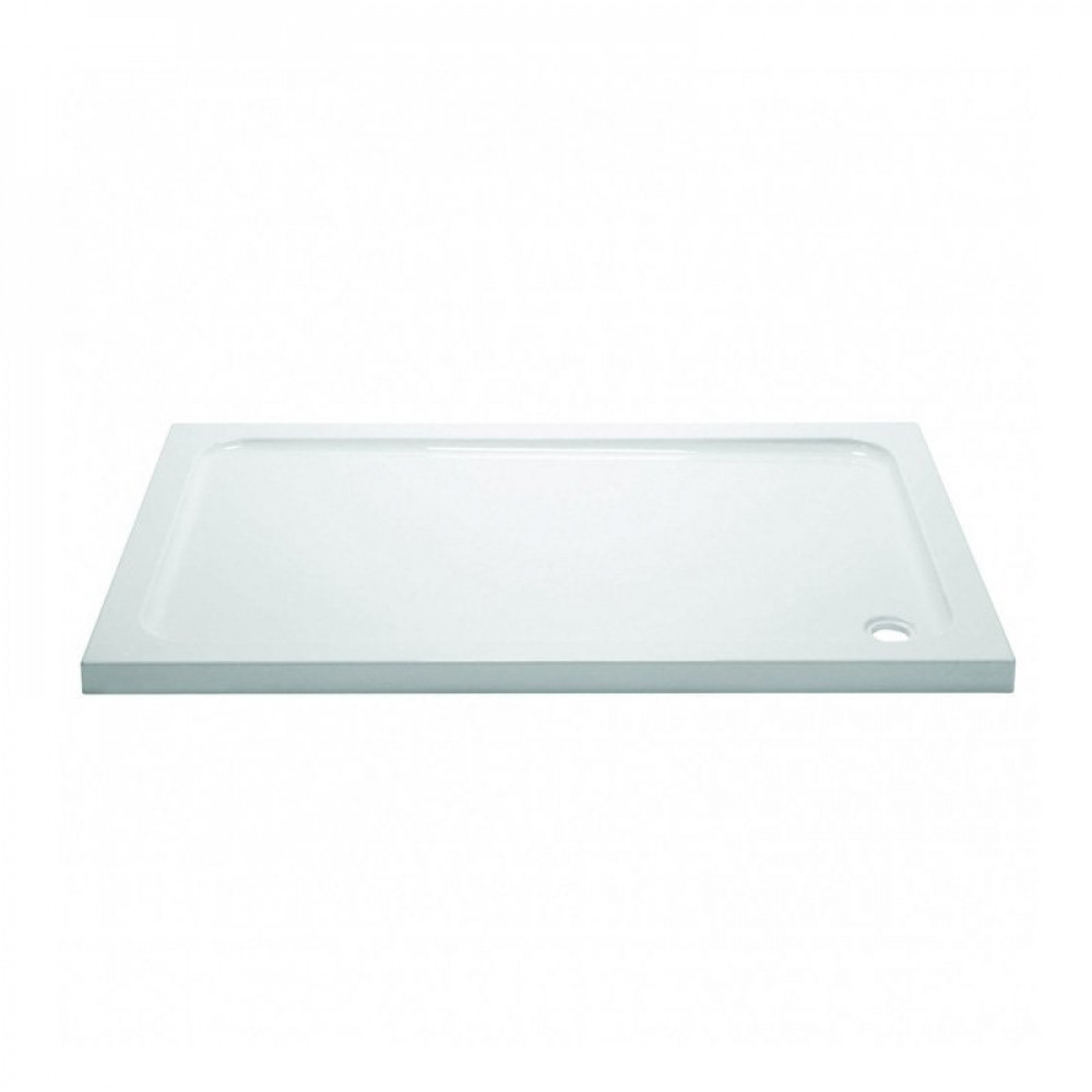Aquadart 800 x 700mm Rectangle Shower Tray