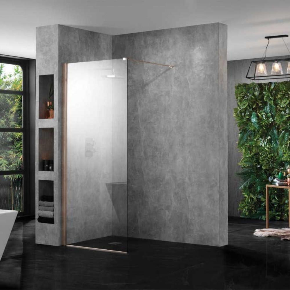 Aquadart Wetroom 10 Wetroom Shower Panel 700mm