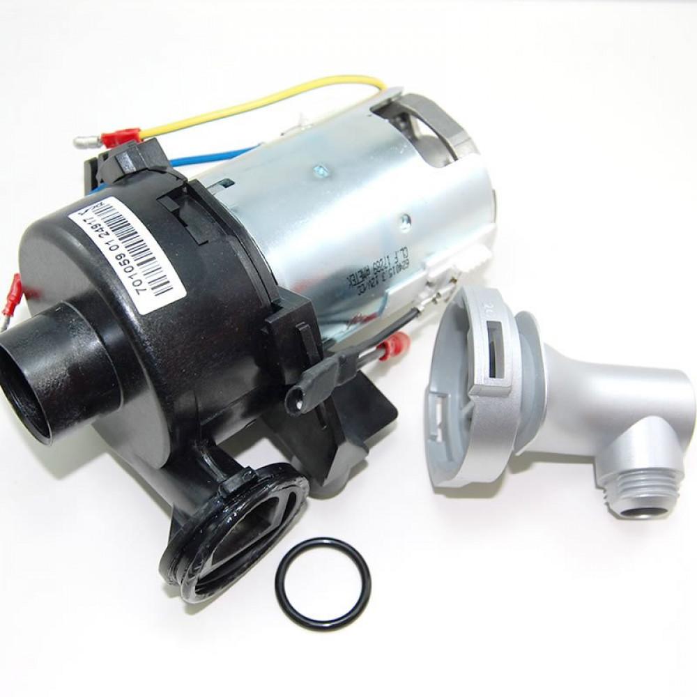 Aqualisa Aquastream Spares, Aquastream Pump Assembly with Chrome Hose Adapter