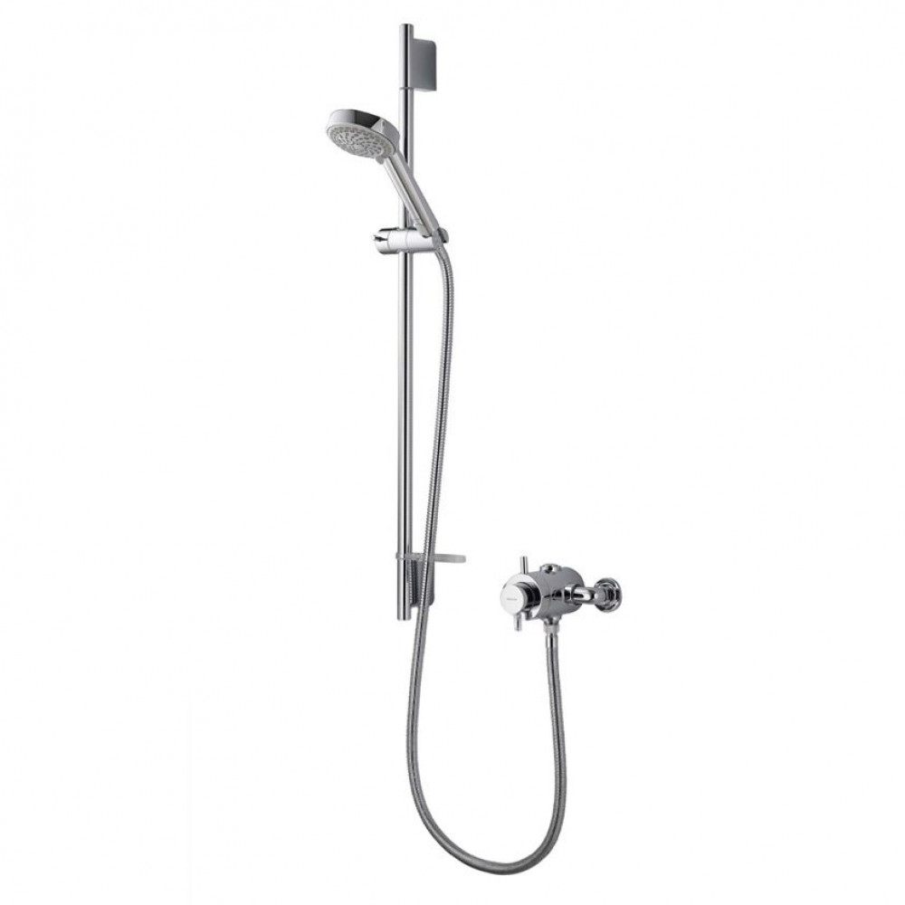 Aqualisa Aspire Exposed Shower with Adjustable 105mm Harmony Head