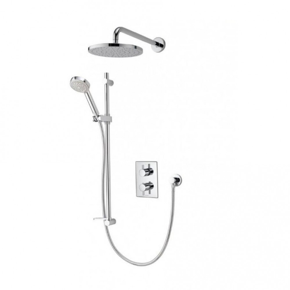 Aqualisa Dream Divert Concealed mixer shower with adjustable and wall fixed heads