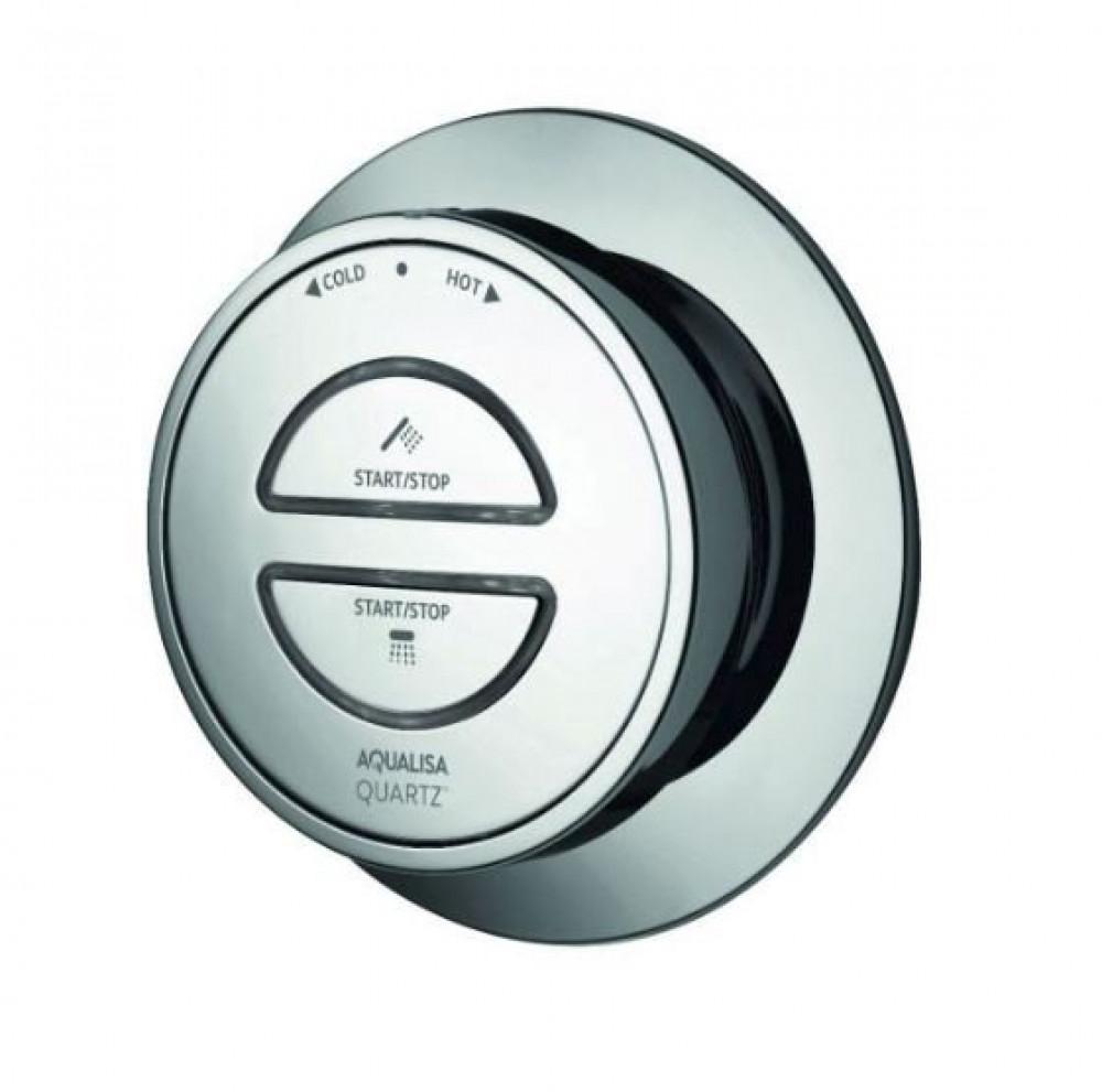 Aqualisa Quartz Chrome Control Twin Button Divert