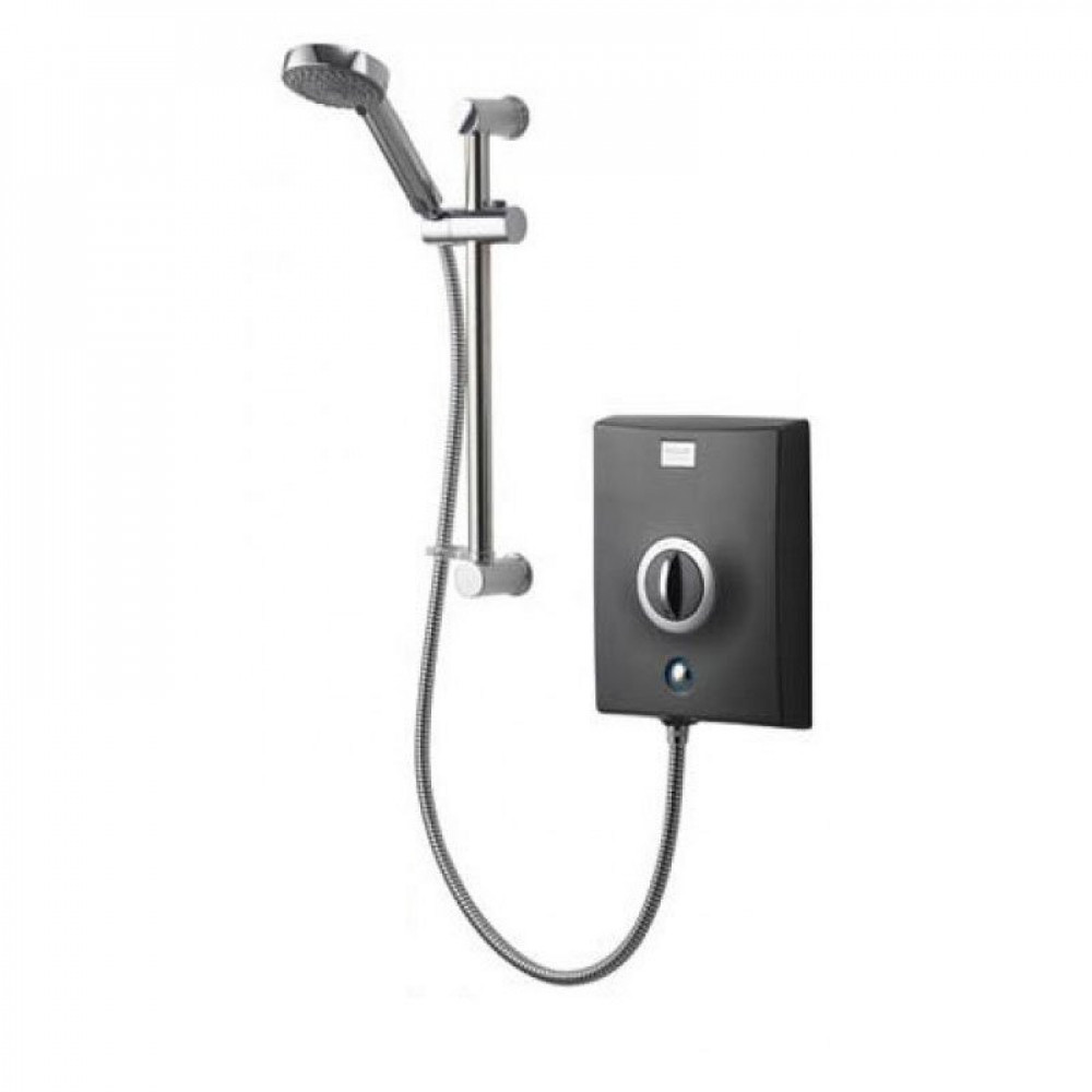 Aqualisa Quartz Graphite Electric Shower 9.5KW