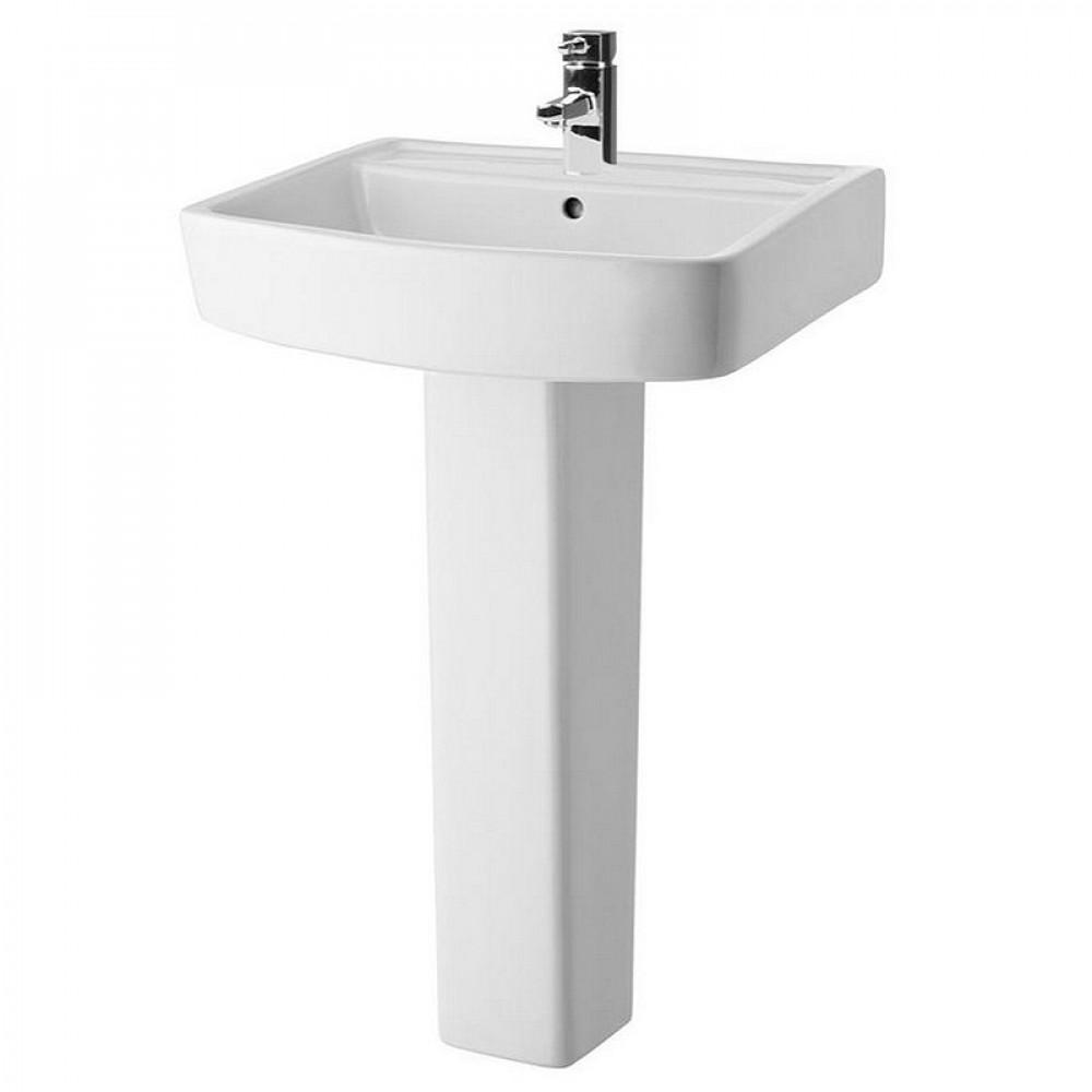 Bliss 600mm Basin And Pedestal