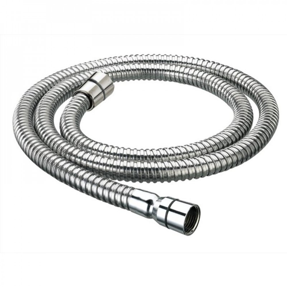 Bristan 1.5m Cone to Cone Std Bore Stainless Steel Shower Hose Chrome