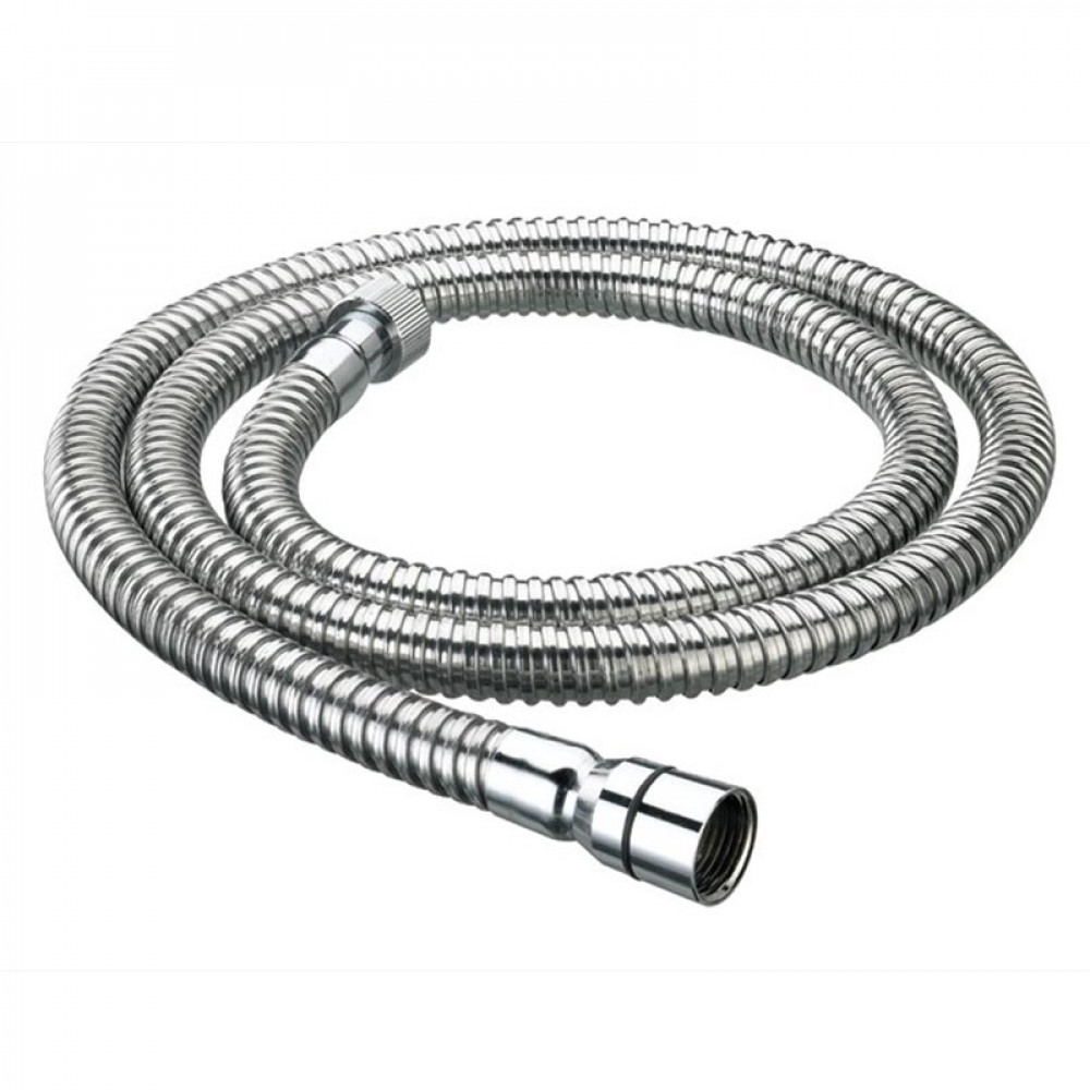 Bristan 1.75m Cone to Nut Lrg Bore Stainless Steel Shower Hose Chrome