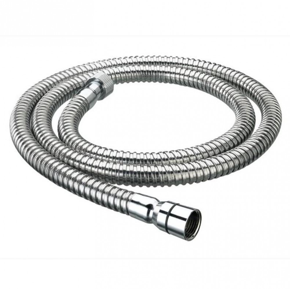 Bristan 2.0m Cone to Nut Std Bore Stainless Steel Shower Hose Chrome