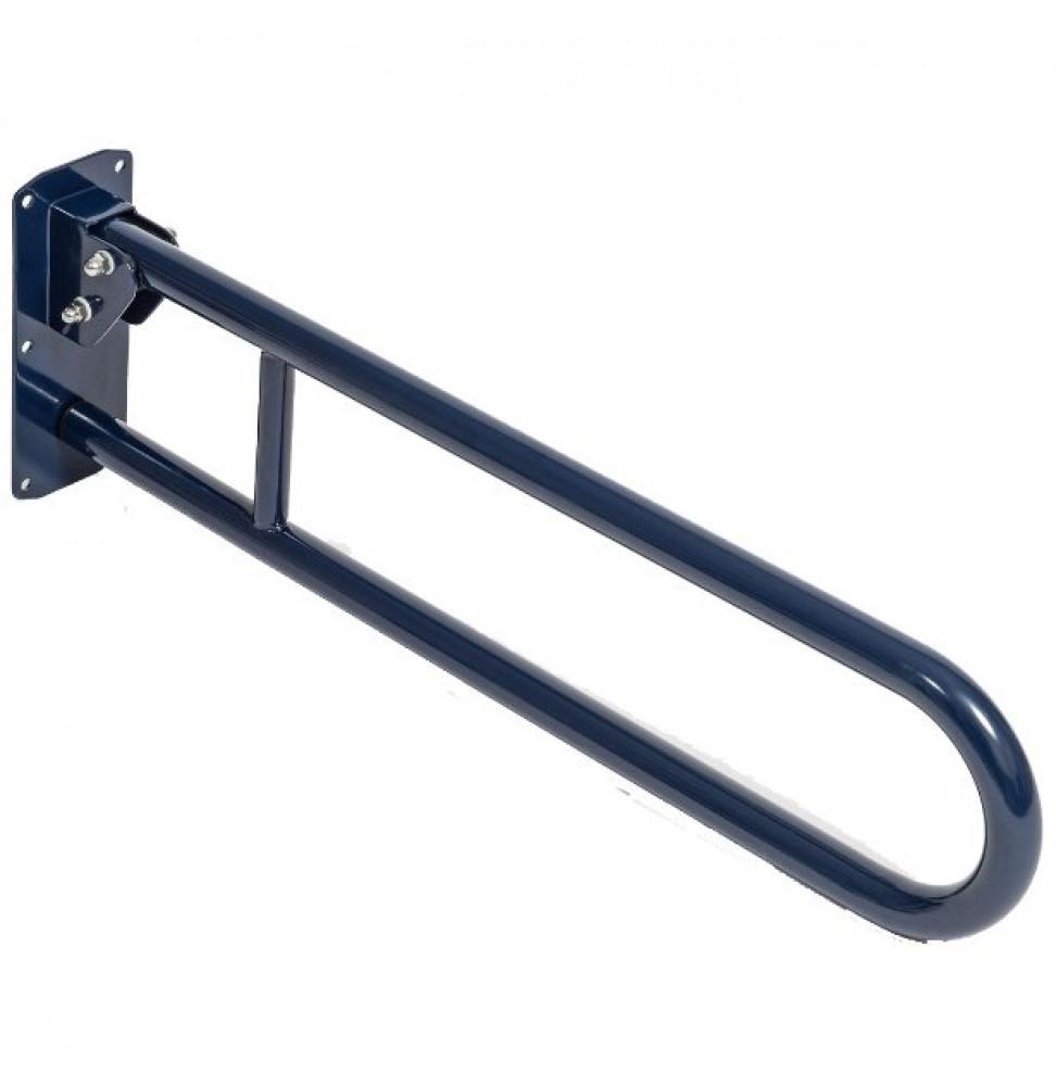 Bristan 800mm Aluminium Hinged Grab Rail, DocM Blue