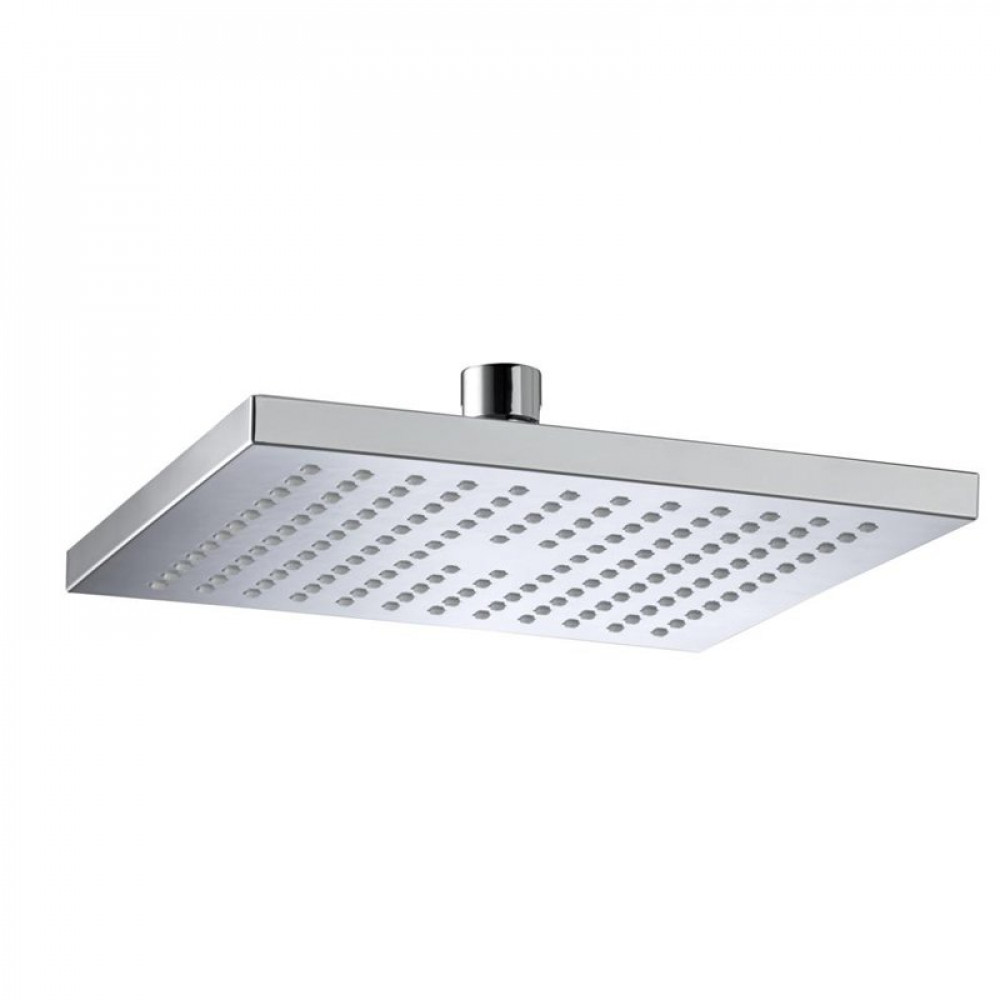 Bristan ABS 200mm Square Fixed Shower Head Chrome