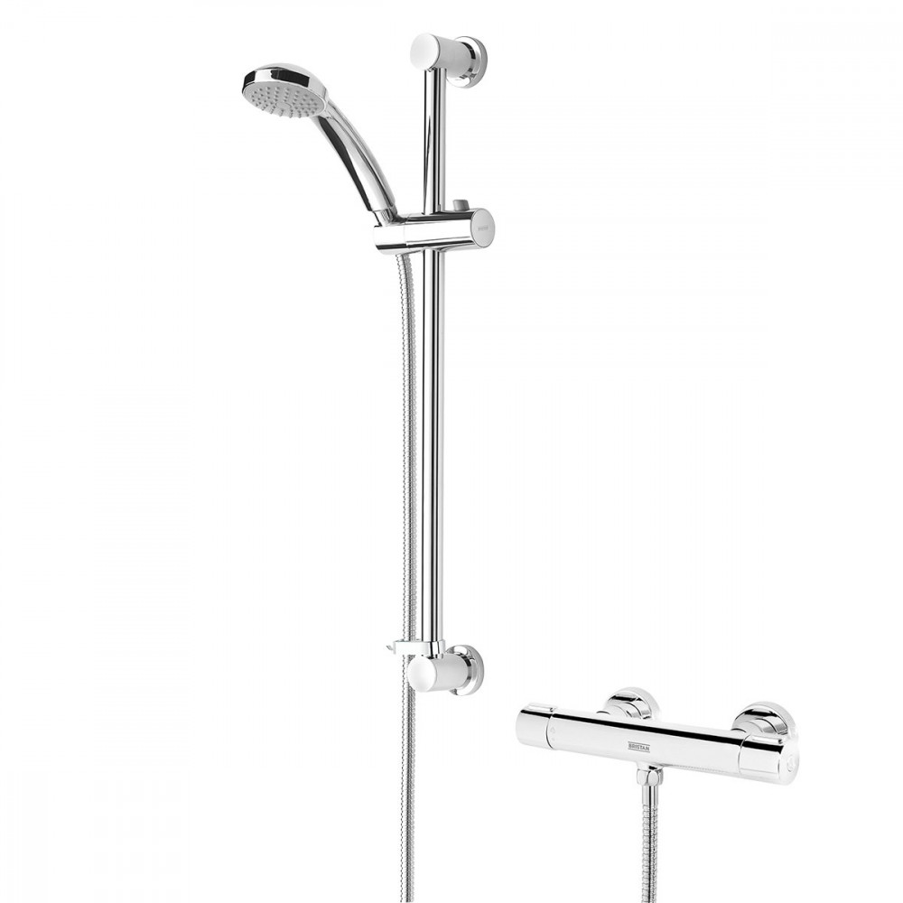 Bristan Frenzy Thermostatic Shower Valve With Riser Kit