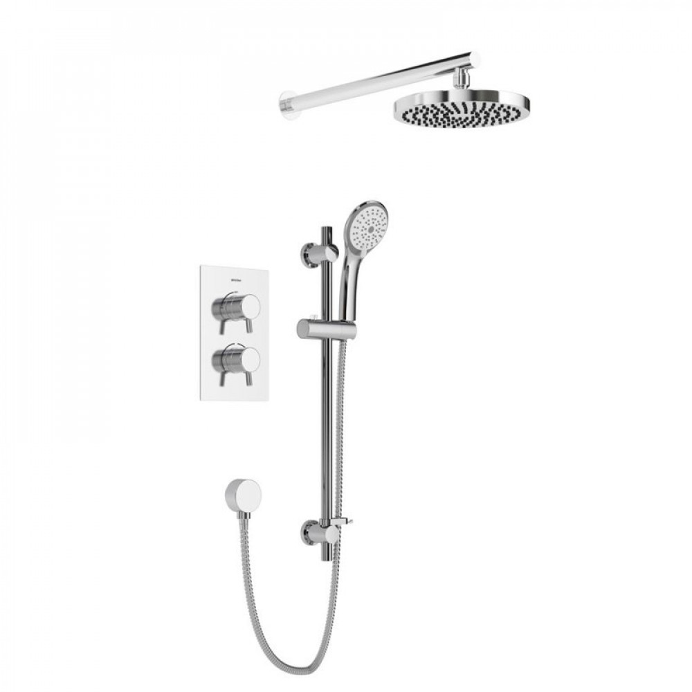 Bristan Prism Recessed Dual Control Shower Pack 2