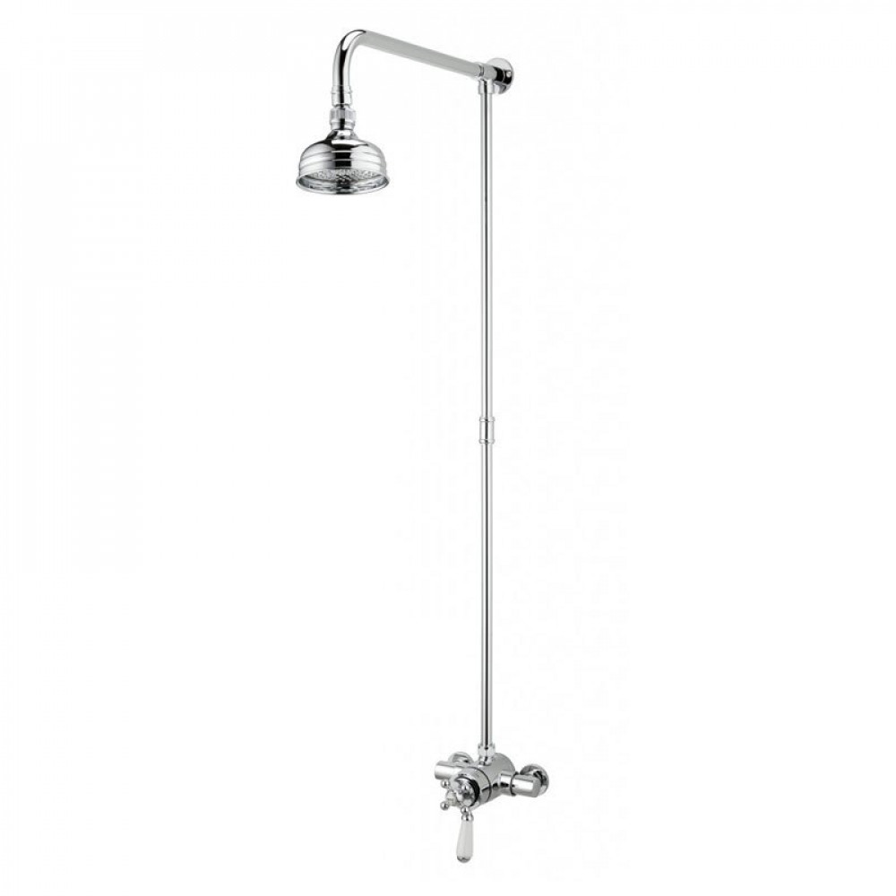Bristan Regency Dual Control Thermostatic Shower and Rigid Riser Rail