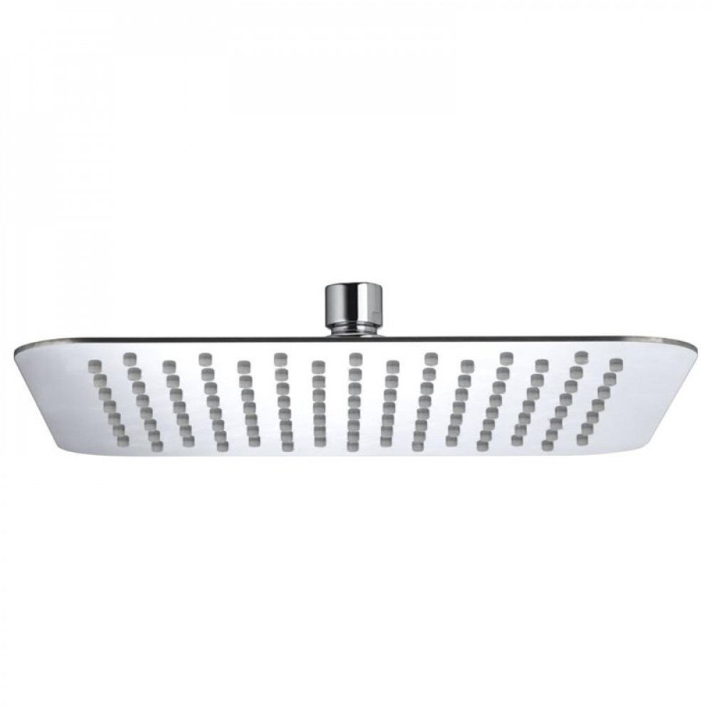 Bristan Stainless Steel Slimline 250mm Square Fixed Shower Head