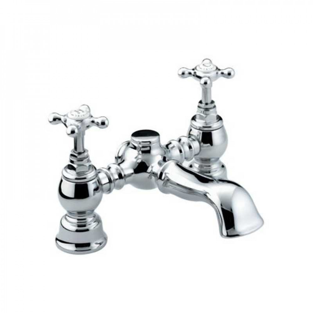 Bristan Trinity Bath Filler Chrome Plated