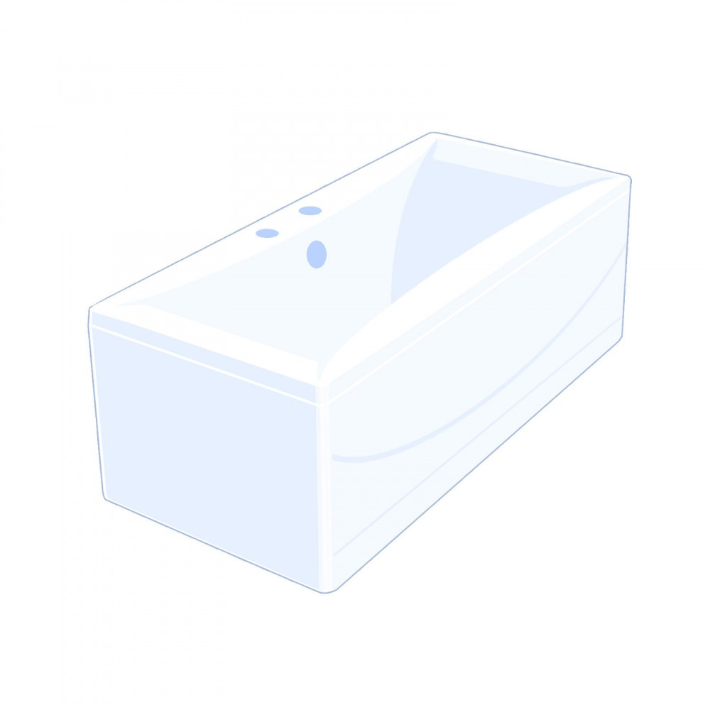 Carron Alpha 1700 x 700mm Double Ended Bath