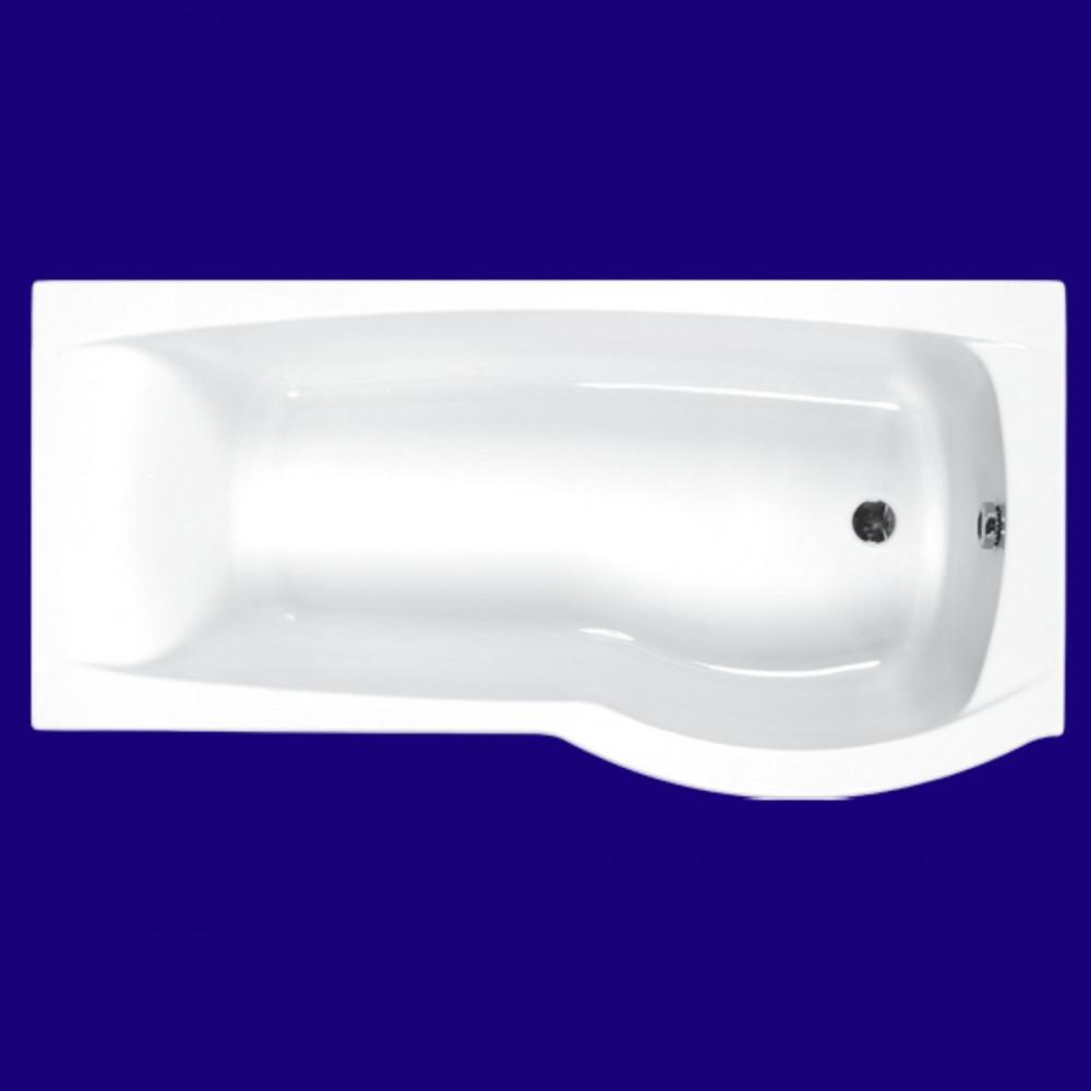 Carron Delta 1600 x 700-800mm Right Hand Shower Bath
