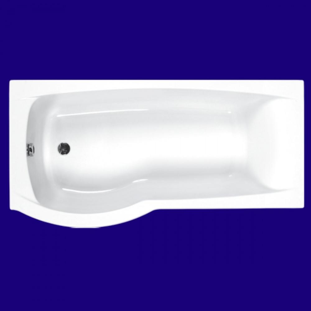 Carron Delta 1700 x 700-800mm Left Hand Shower Bath